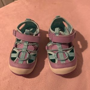 Stride rite size 6w toddler shoes
